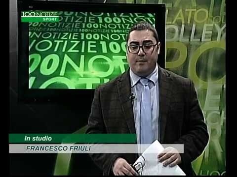 video studio 100 100 notizie sport del 23 03 2018
