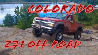 Chevy Colorado Z71 Off Road Trails