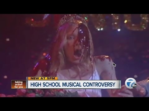 Controversy over local high school musical Carrie