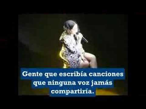 Alizée-The sounds  of silence  Traduccion Español