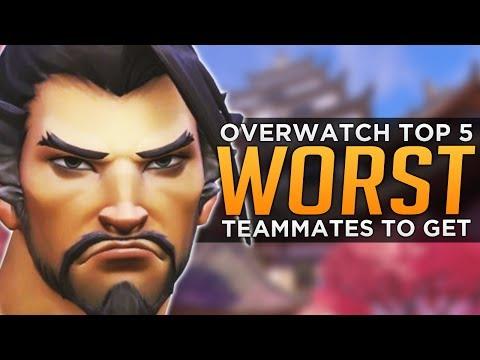 THE WORST Types of Teammates in Overwatch [PARODY]