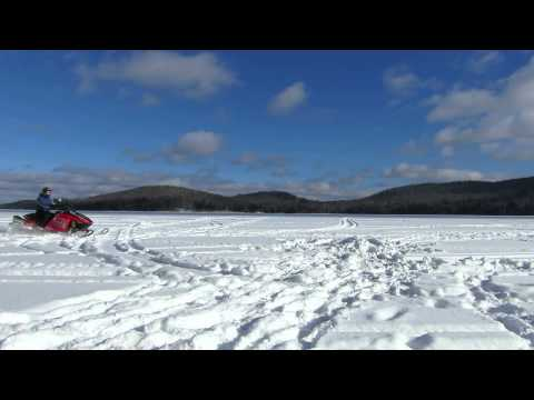 World's Fastest Snowmobile Ride