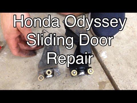 2005-2010 Honda Odyssey sliding door roller-Most common fix.