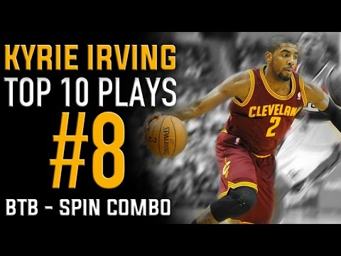 Kyrie Irving Behind the Back Spin Combo: Top 10 Plays #8 | Basketball Moves How to
