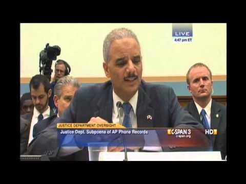 Rep. Farenthold Poses America's Questions to Attorney General Holder