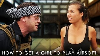 How to Get a Girl to Play Airsoft (Full Video) | Airsoft GI Original Production | Gina Darling