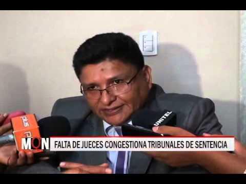 27/11/2014-18:59 FALTA DE JUECES CONGESTIONA TRIBUNALES DE SENTENCIA