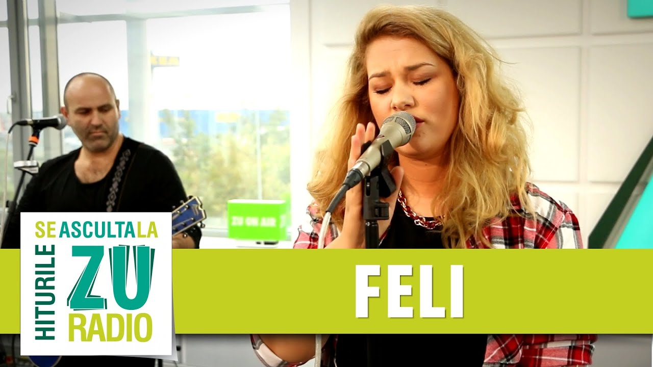 Feli - Creioane Colorate (Live la Radio ZU)