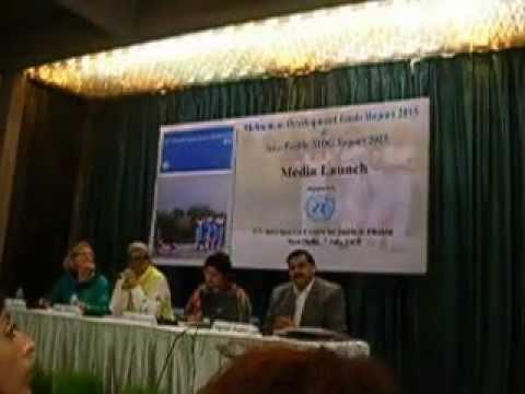 SAGAR MEDIA INC @ MEDIA LAUNCH OF GLOBAL & ASIA PACIFIC MDG REPORT