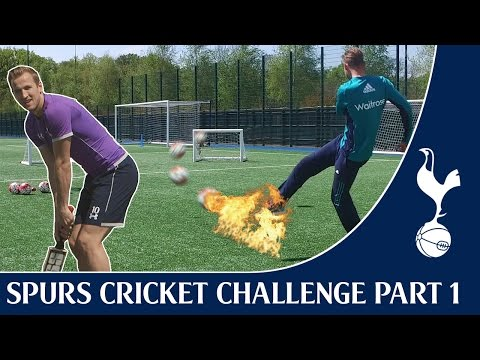 Harry Kane & Stuart Broad vs Tom Carroll & Moeen Ali | Spurs Cricket Challenge Part One