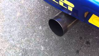 afterburn full open exhaust sti 2002
