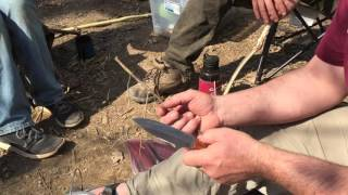 How to Sharpen a Knife by Equip 2 Endure