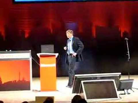 Bill Gates on Microsoft Business Forum Moscow 2006