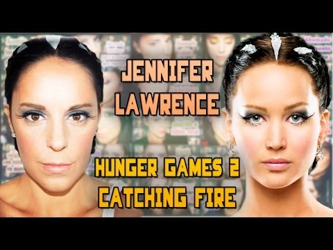 Makeup tutorial: Jennifer Lawrence Hunger Games 2 | Silvia Quiros