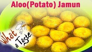 Aloo(Potato) Jamun Recipe  || What A Taste || Vanitha TV
