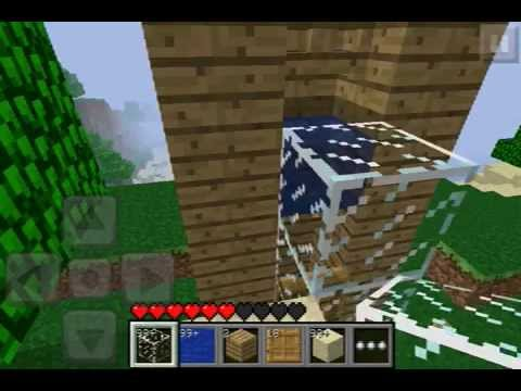 Como hacer un elevador en minecraft pocket edition