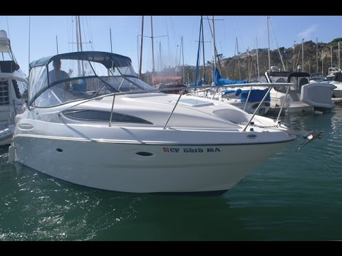 Bayliner 265 On the Water & Walk Thru Tour by South Mountain Yachts