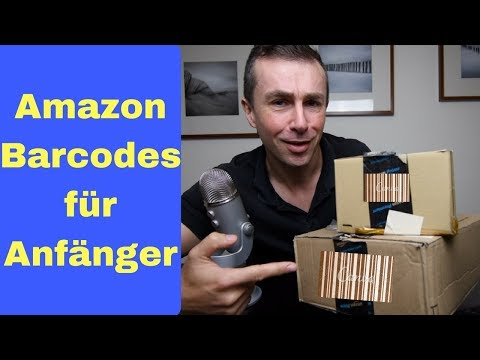Amazon FBA Barcodes erklärt für Anfänger. Aus EAN wird FKSNU und ASIN