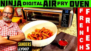 FROZEN FRENCH FRIES | NINJA AIR FRY TOASTER OVEN FOODI | Air Fried ORE IDA CRINKLE CUT