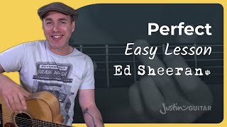 Download Lagu How to play Perfect by Ed Sheeran - Guitar Lesson Tutorial Acoustic Gratis STAFABAND