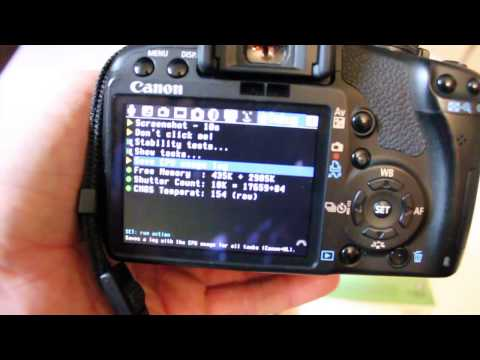 How to find shutter actuations Canon EOS DSLR cameras T1i 500D t2i t3i
