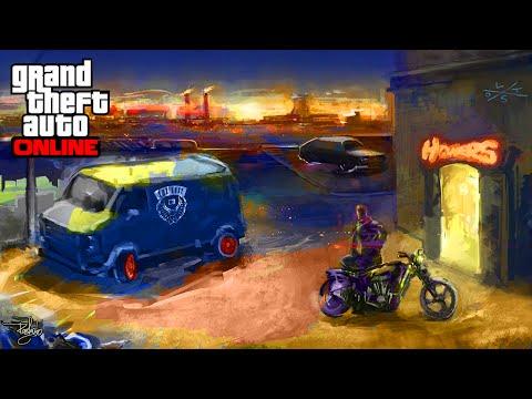FAN ART ROCKSTAR GAMES - GTA 5