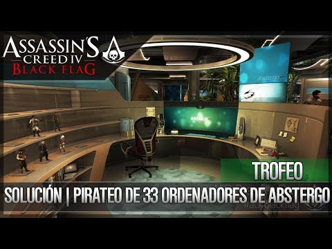 Assassin's Creed 4 Black Flag | Walkthrough | Guía de Trofeo | Piratea 33 Ordenadores SOLUCIÓN