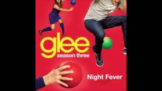 Watch Glee Cast Night Fever video