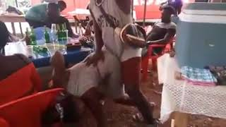 One corner dance gone wild in Nigeria
