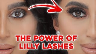 How to Pick Lashes for Your Eye Shape + How to Apply Lashes using Lilly Lashes