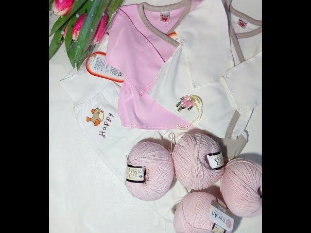 Новая пряжа для комбинезона спицами. Вязание. Покупка детской одежды. Рынашко