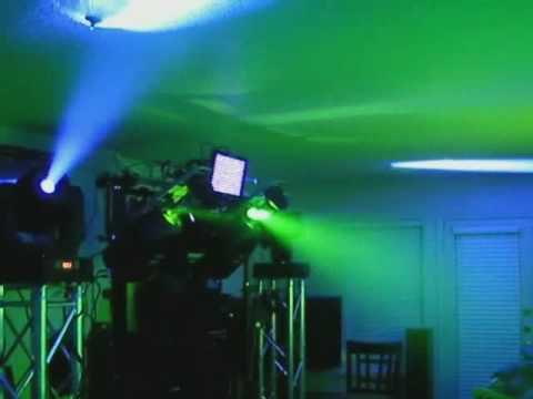 Martin MX10 Scanner Elation Design Spot 250 Martin Wizard Extreme Chauvet Show Xpress DJ Lights