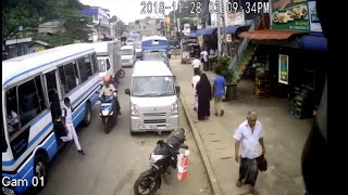Accident Videos#112   Bike hits student   Live Accident   CCTV Footage