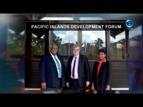 Fiji One News Coverage on the Visit by the French Envoy to the PIDF Secretariat