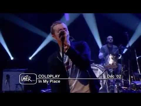 Coldplay - In My Place - live on Jools Holland 2002