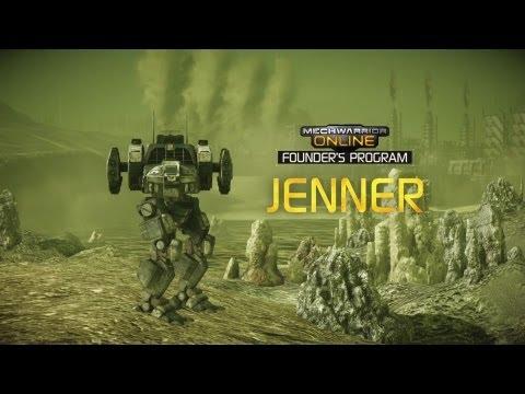 Jenner - MechWarrior Online: Founders Program Video