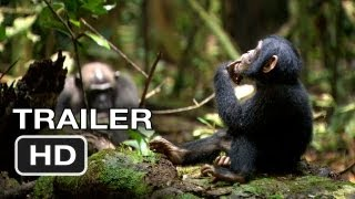 Chimpanzee - Chimpanzee Official Trailer #1 (2012) Disney Nature Movie HD