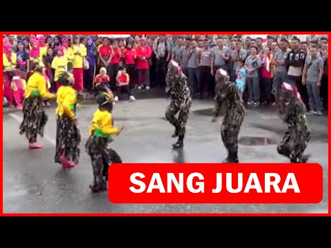 Luar Biasa...!!! Sat Brimobda Maluku Juara 1 Lomba Tari Kreasi - HUT HKGB ke-65