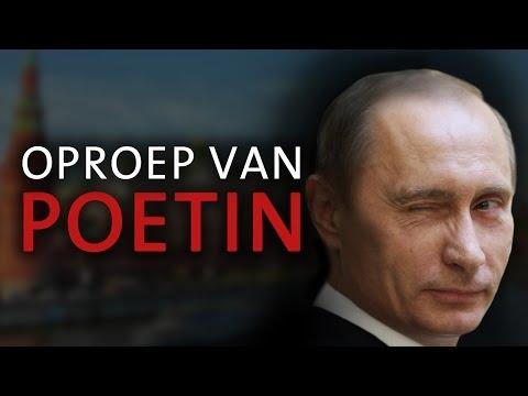 Dringende oproep van Vladimir Putin