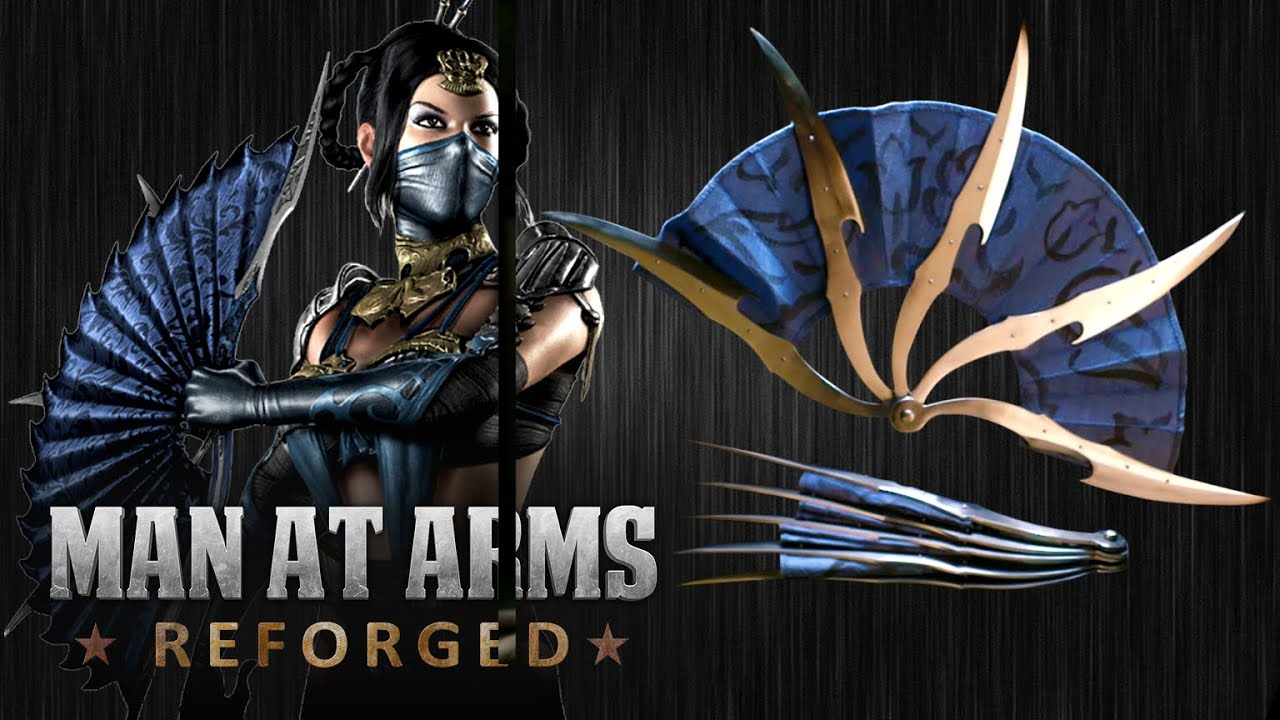 Man At Arms Takes On Kitana's War Fans