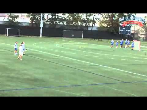 Individual & Team Practice Drills for Women's Lacrosse