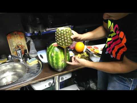 Мастер-класс Кальян без кальяна. Кальян из фруктов.