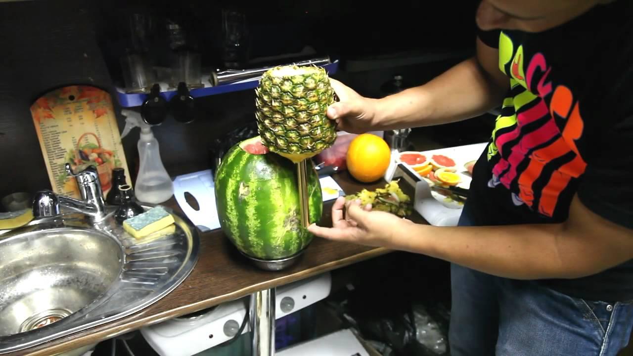 Как сделать светящийся арбуз