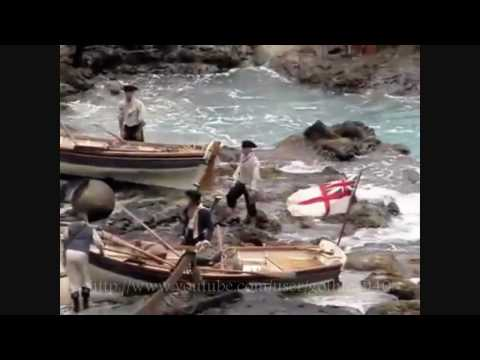 first view of filming of Pirates of the Caribbean : On Stranger - behind the scenes