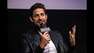 WHY JOHN KRASINSKI TOOK A STAB AT THE HORROR GENRE WITH A QUIET PLACE - THE CONTENDERS LONDON