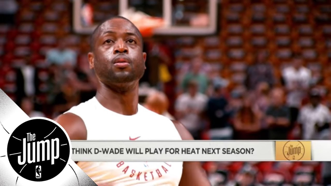 Will Dwyane Wade play with the Heat next season? | The Jump | ESPN