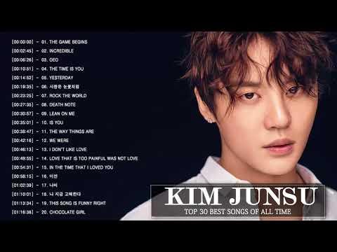 Download Best Of Kim Junsu Songs - 김준수 최신 인기가요 노래모음 연속듣기 뮤맵 Mp4 baru