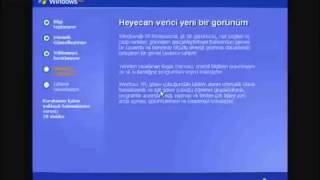 WINDOWS XP  Format Atmak