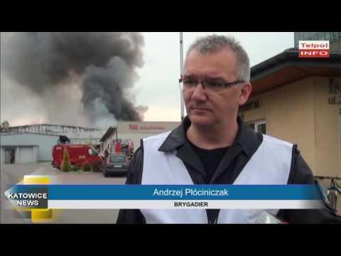 Pożar Hali W Katowicach