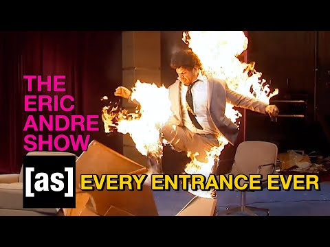 Every Entrance in The Eric Andre Show | adult swim